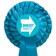Brexit Party Two Tier Rosette