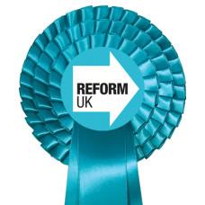 Reform UK  Party Three Tier Rosette