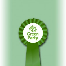 Green Party Single Tier Rosette