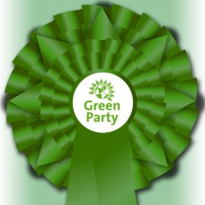"Green Party ""Election Night Special"" Rosette"
