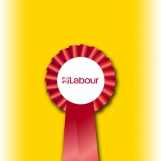 Labour Party Single Tier Rosette