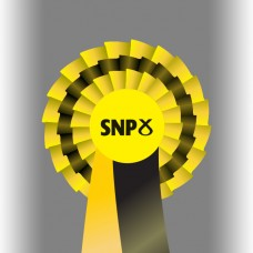 SNP Party Three Tier Rosette